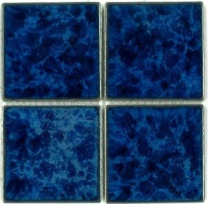 Details about Fujiwa Porcelain Swimming Pool Waterline Tile - TITAN 332  SAPPHIRE 3\