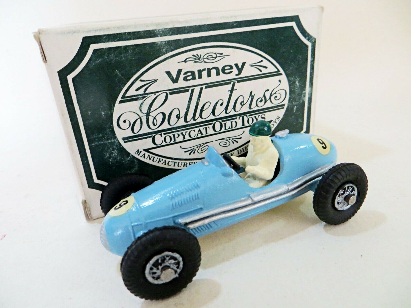VARNEY COLLECTORS COPYCAT OLD TOYS 'GORDINI RACING CAR' BOXED. CRESCENT COPY