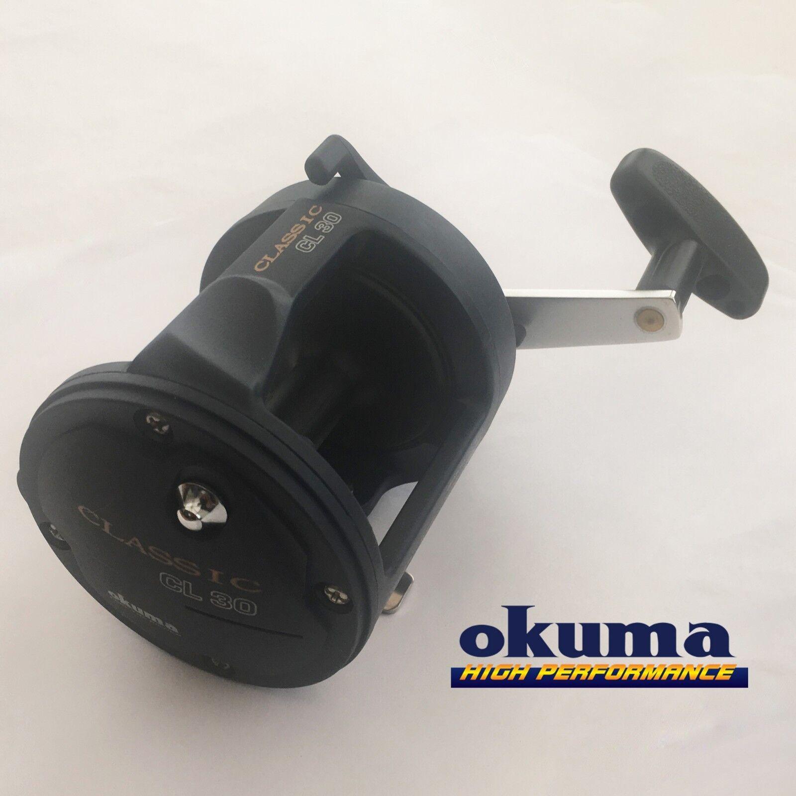OKUMA Classic CL 30/CL 300 Pesca in Mare Moltiplicatore 9.07 340yds di rapporto di trasmissione 20 LB (ca. 9.07 Moltiplicatore kg) 4:1 982e78