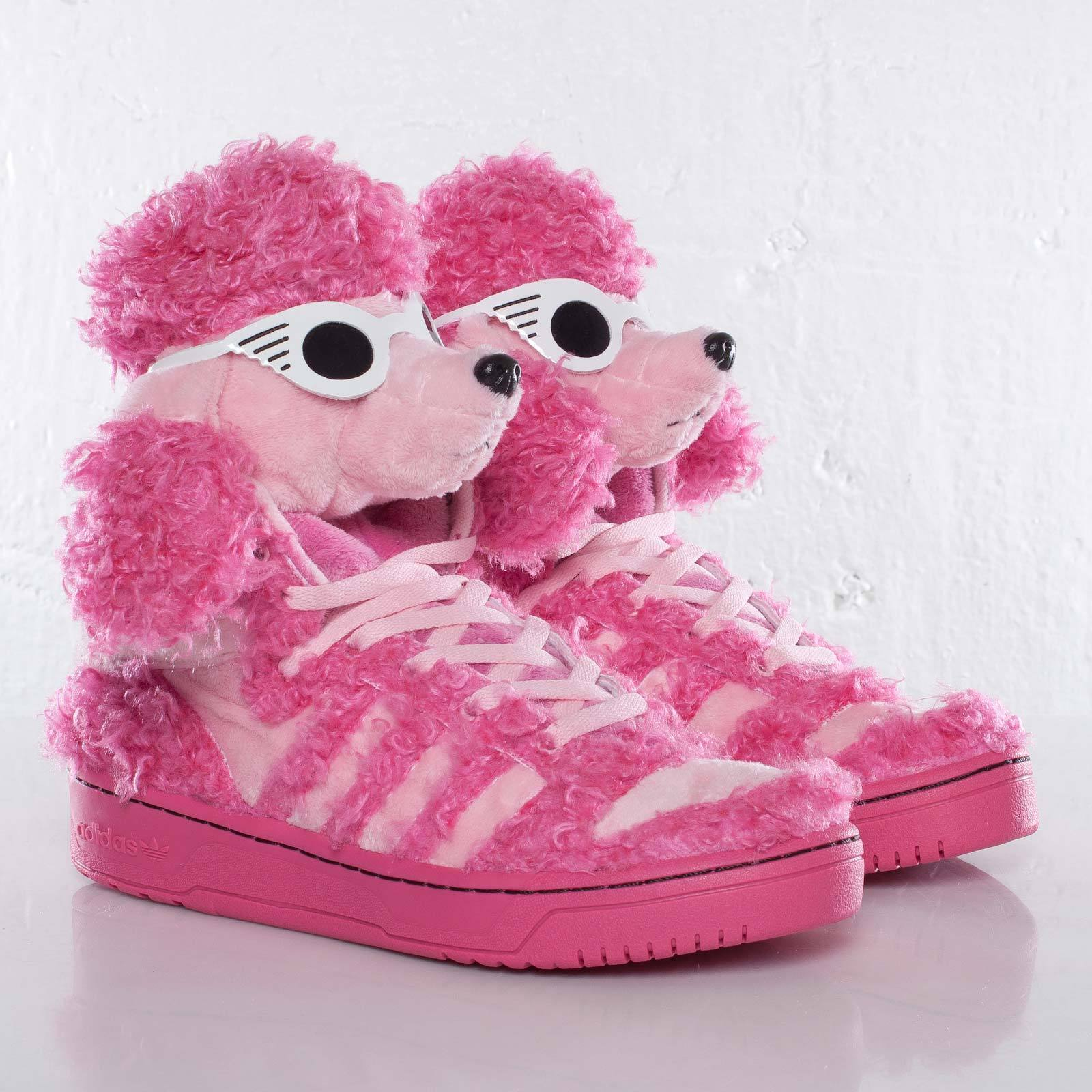 AUTHENTIC-Adidas Originals JEREMY SCOTT POODLE Trainer Teddy Sneaker shoesMens 9