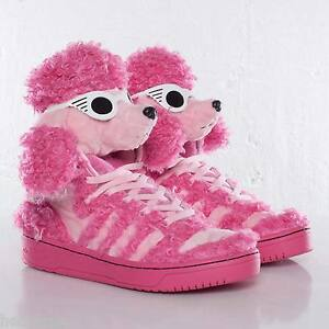 huge discount 76e46 b162a Image is loading AUTHENTIC-Adidas-Originals-JEREMY-SCOTT-POODLE -Trainer-Teddy-