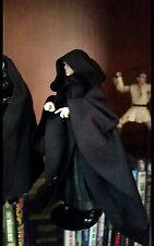 "Star Wars Custom Robe w Hood Emperor Darth  6 "" figure black series NO FIGURE"