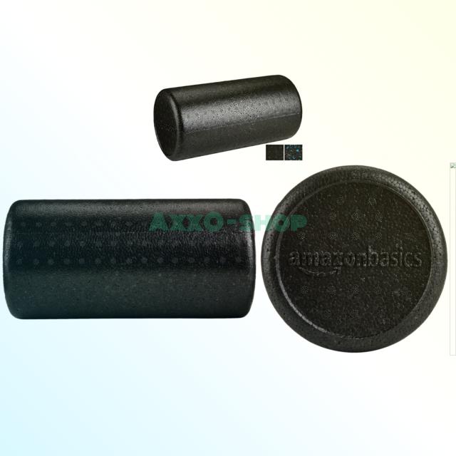 Black High-Density Round Foam Roller24-inches