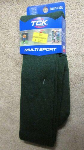 Twin City Tck Mult Sport Chaussettes-Vert foncé-MSXL-xlg-NEUF!!! L 1