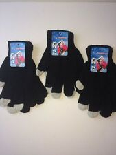 Smart Phone Touch Screen Warm Gloves 3 Pairs Black 9.99 Free Ship