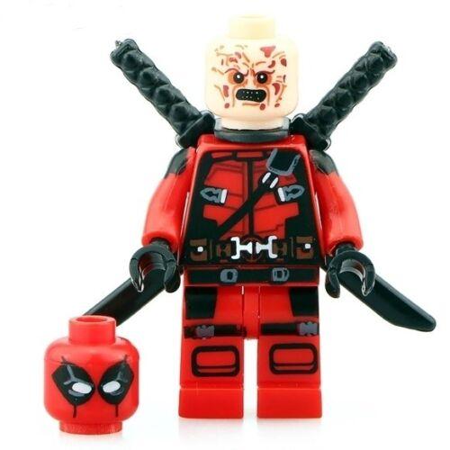 Superhero Custom Mini Figures Deadpool