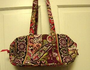 Image Is Loading Vera Bradley Retired Very Berry Paisley 034 100