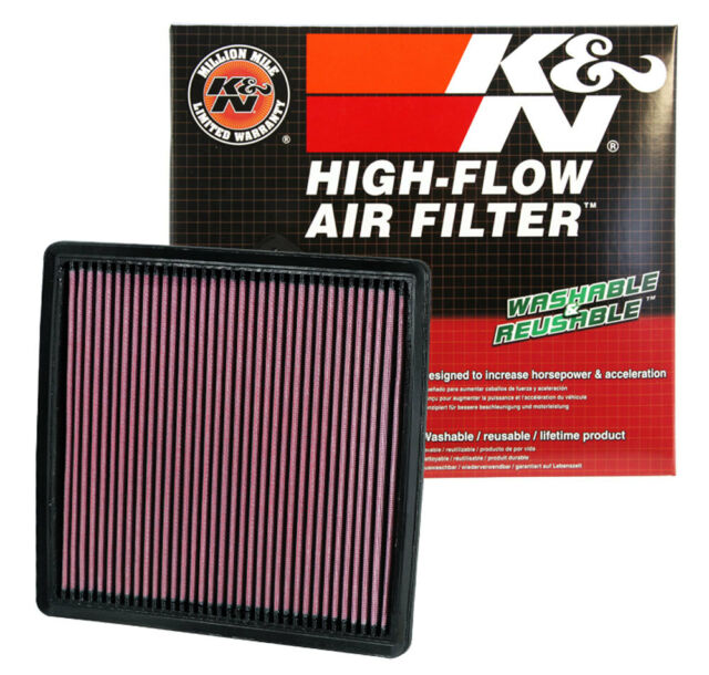 K/&N Drop In Replacement Panel Air Filter For 2009-18 Ford F150 2008-16 F250 F350