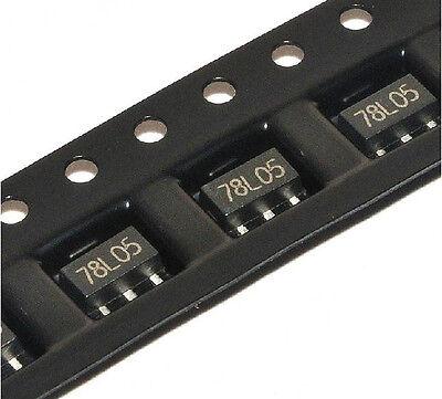 20PCS 78L05 REG LDO 5V 100MA SOT-89 NEW GOOD QUALITY