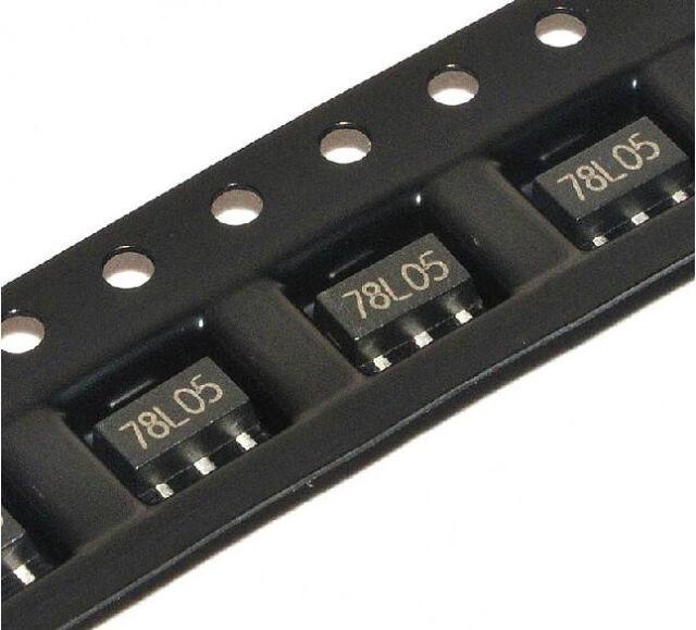 100PCS 78L05 REG LDO 5V 100MA SOT-89 NEW GOOD QUALITY