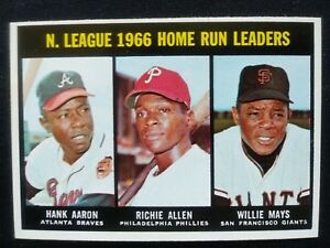 1967-Topps-Baseball-Card-244-NL-Home-Run-Leaders-Aaron-Allen-Mays