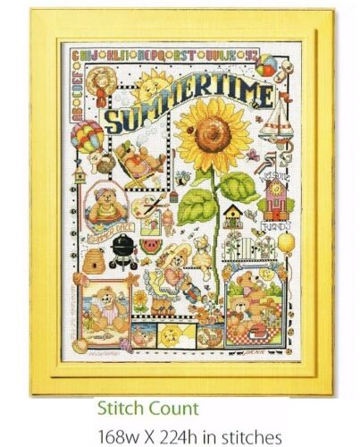 SUMMERTIME CROSS STITCH PATTERN ONLY 1a