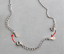 2pcs-925-Sterling-Silver-Extender-Safety-Tail-Chain-Necklace-Lobster-lock-3-034-4-034 miniature 3