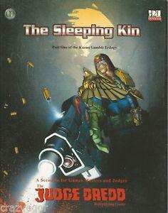 Judge Dredd RPG Kazan Gambit Trilogy #1 The Sleeping Kin  *FS