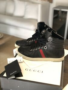 gucci leather high top