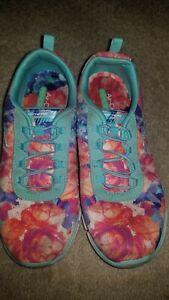 Used Skechers Multi Floral Glider