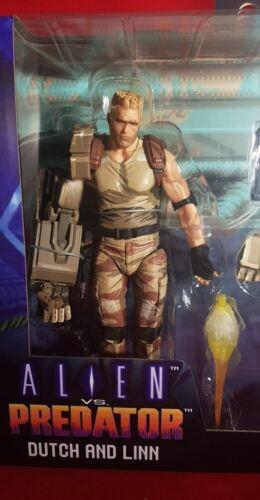 Alien Vs Predator Dutch and Linn Neca Action Figures