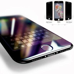 Pour-Apple-iPhone-7-Noir-3D-arrondi-Full-Cover-Verre-Trempe-Protecteur-d-039-ecran