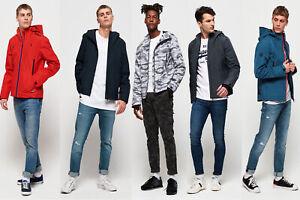 Fern XXXL Superdry Men/'s Hooded Arctic Elite Windcheater Jacket Green Sizes:S