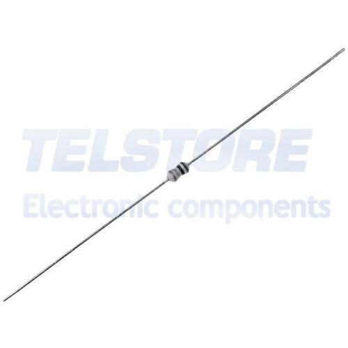 100pcs 1//4ws200r Resistance Carbonic THT 200 Ohm 0,25w ± 5/% ø1 85x3,5mm Royal OH