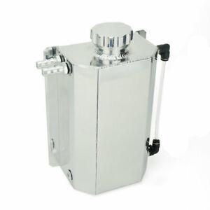 Universal-Aluminum-2L-Car-Engine-Oil-Catch-Can-Tank-Reservoir-Tank-2000ML-Chrome