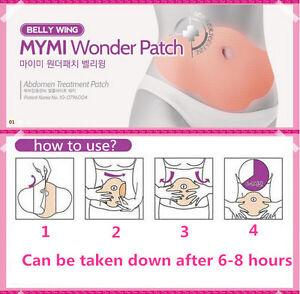 Patchs-Wraps-Minceur-Ventre-Anti-cellulite-Perte-Poids-Bruler-Graisse-5pcs
