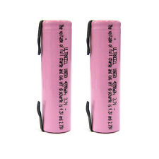 2 x 18650 4200mAh 3.7V Li-ion Rechargeable battery UltraCell w/Tab Rose US Stock