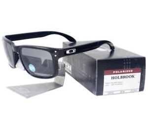 Image is loading Oakley-OO-9102-02-POLARIZED-HOLBROOK-Polished-Black- 1d7f591df6