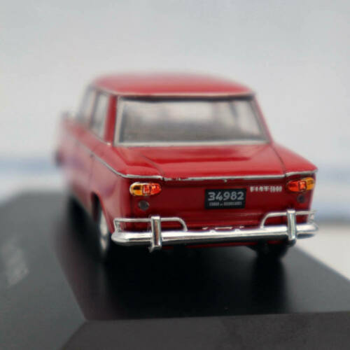 IXO Altaya Fiat 1500 1963 Red Diecast Models Limited Edition Collection 1:43