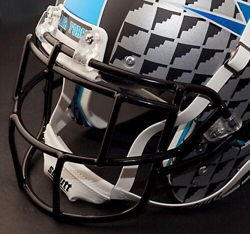 AIR FORCE FALCONS FACEGUARD Schutt Super Pro EGOP Football Helmet FACEMASK