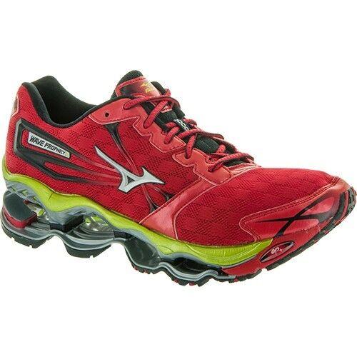 Mizuno Wave Prophecy 2 Zapatillas de Running Hombre Rojo, Plata