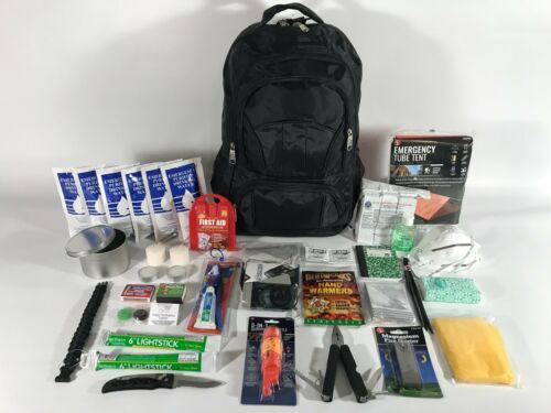 72 HOUR EMERGENCY PREPAREDNESS DISASTER SURVIVAL KIT with FOOD /& WATER  BUG OUT