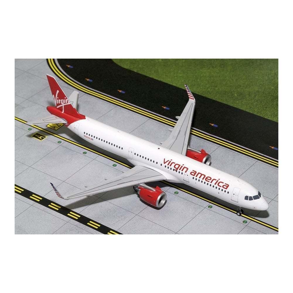 Gemini Jets Virgin America A321neo N921VA Diecast Model - Scale 1 200
