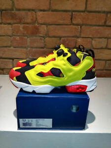 REEBOK INSTAPUMP FURY OG BLACK/GREEN/RED CITRON COLOURWAY STYLE V47514