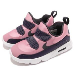 612279e4aa08f Nike Air Max Tiny 90 TD Pink Gridiron White Toddler Infant Baby ...