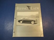 The Flying Lady Rolls-Royce, Magazine March/April 1994,1964 SCIII Saloon