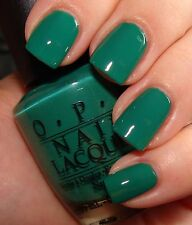 "OPI Nail Polish "" JADE IS THE NEW BLACK "" -  New/Full Size & VHTF !!"