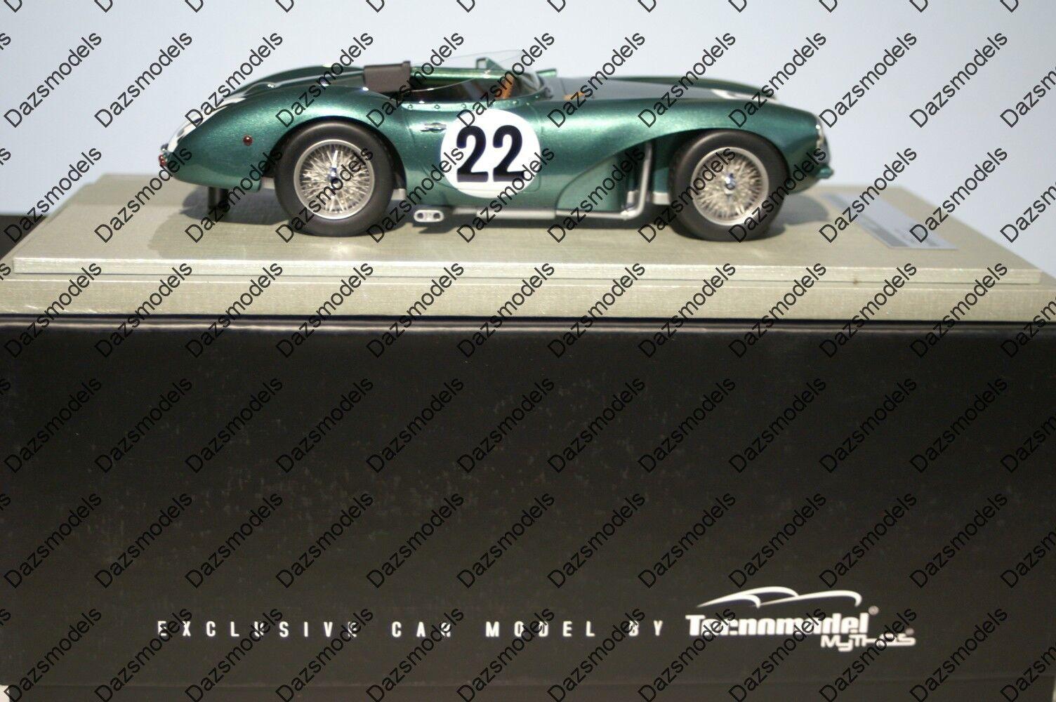 Tecno Model Mythos Aston Martin DB3 S Winner SPA 1955 1955 1955  18 Scale f158d4