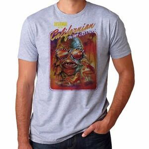 Californian-Swamp-Creature-funny-T-shirts-Men-039-s-Ringer-Cotton-Short-Sleeve-Tee