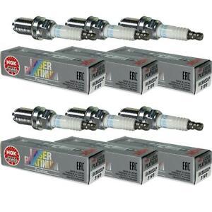 6X-NGK-Laser-Platinum-Premium-Zuendkerze-3199-Typ-BKR6EQUP-Zuend-Kerze