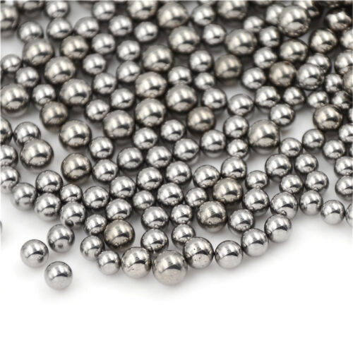 100pcs Bicycle Replacement Silver Tone Steel Bearing Ball  4//4.5//5//5.5MM Dia $BB