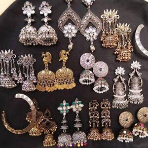 Women-039-s-Bohemian-Multi-style-Tassel-Dangle-Ethnic-Gypsy-Earrings-Indian-Jewelry