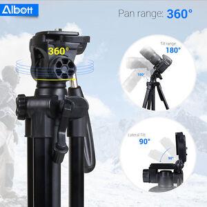 Camera Tripod for Canon Digital Camera Camcorder Nikon Portable Aluminum Stand U