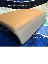 Tan Armrest Center Console Lid Skin Cover For 2009 2014 Nissan Murano Fits Nissan