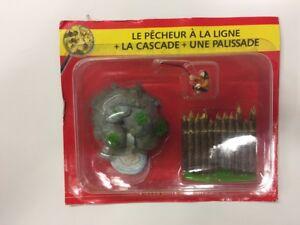 The Village D'Asterix Figure n16/60 The Fisherman À La Line Cascade Palisade