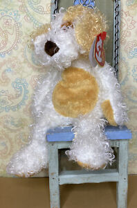 """Ty Beanie Baby DIGGS the dog 6"""" (sitting)...NEW With Tags"""