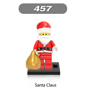 LEGO Xmas Minifigure Figure Mrs Claus Red Outfit     Christmas Santa Advent