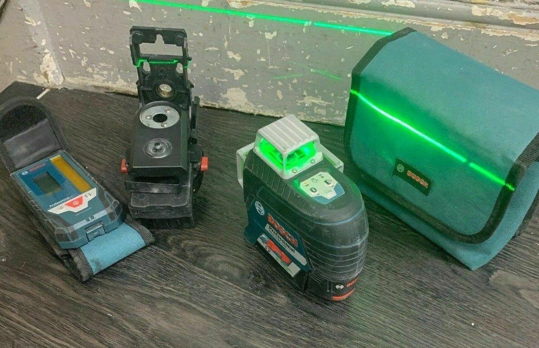 Bosch GLL3-80CG 12v 1x2.0Ah Li-ion Multi Line Grün Laser
