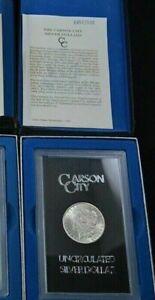 1884-CC-Carson-City-GSA-Morgan-Silver-Dollar-Box-COA-Uncirculated
