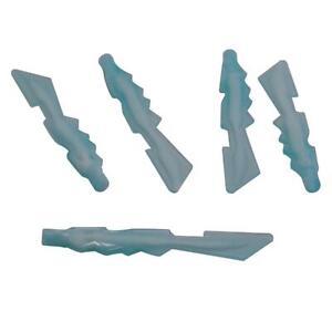 LEGO LOT OF 6 TRANS-MEDIUM BLUE MARBLED ROCK WALL PANELS PIECES